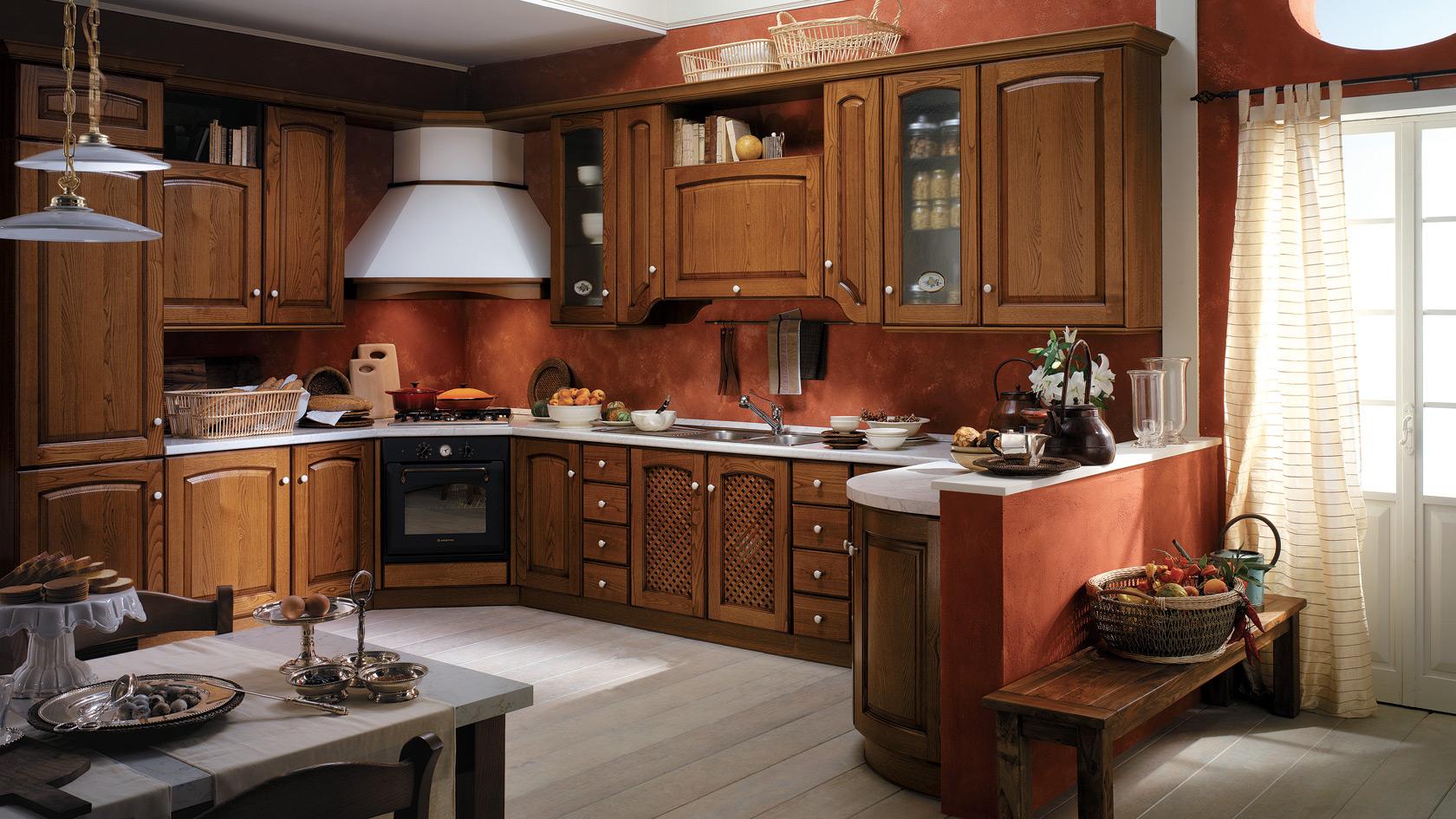 Rivestimenti Per Cucine In Muratura: Cucina in muratura rustica ...